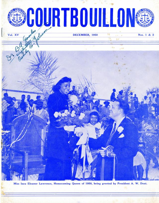 Dillard University - Courtbouillon Vol 15 No 1and 2