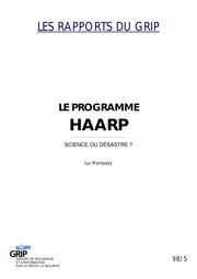 Mampaey Le Programme HAARP nwo illuminati freemasons ...