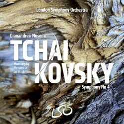 Tchaikovsky: Symphony no. 4 / Mussorgsky: Pictures at an Exhibition by Tchaikovsky ,   Mussorgsky ;   London Symphony Orchestra  &   Gianandrea Noseda