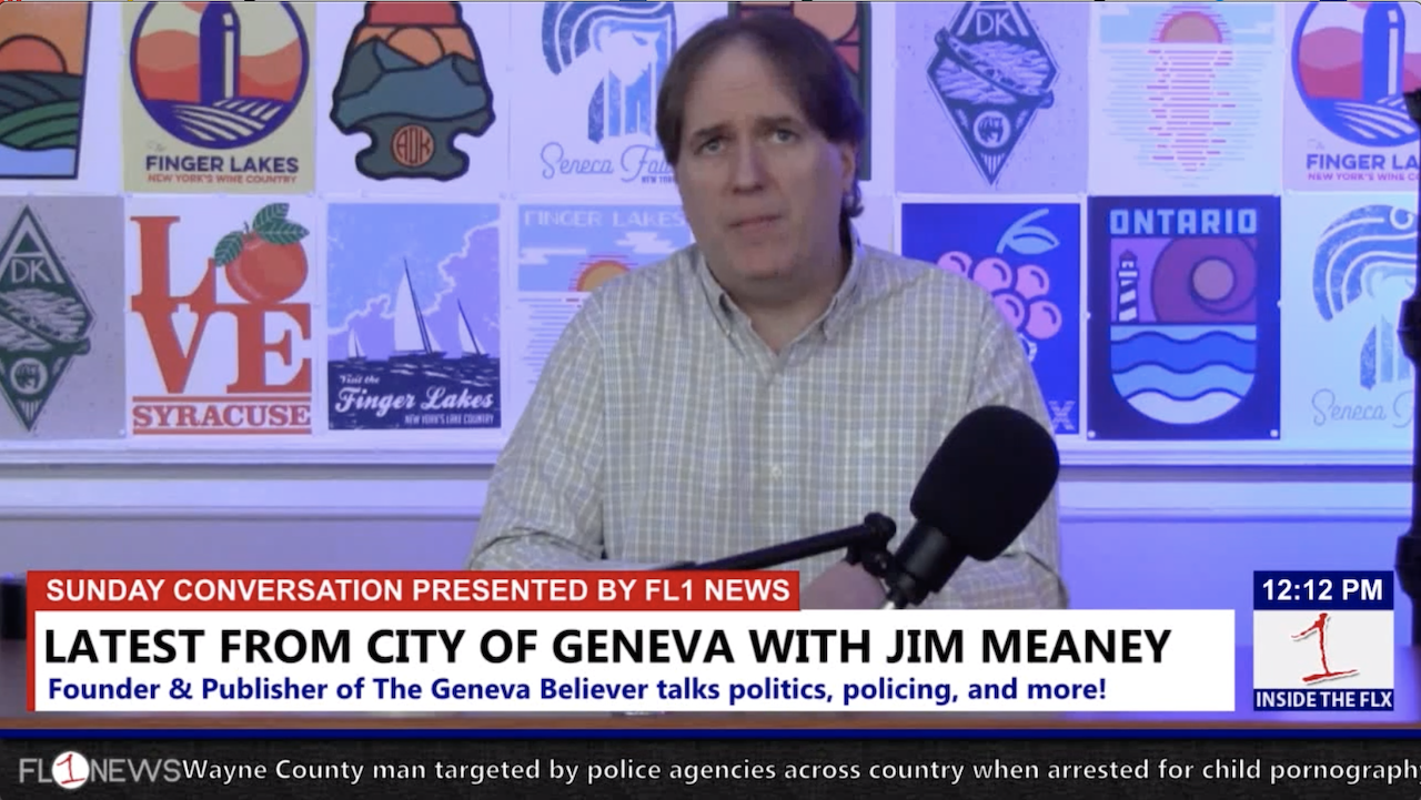 Discussing the latest in Geneva with Jim Meaney .::. Sunday Conversation 2/17/19