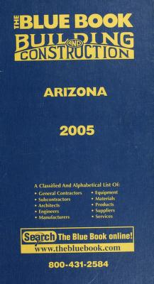 Cover of: The blue book building and construction  