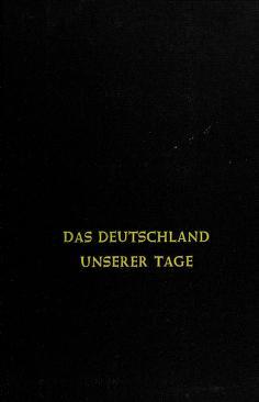 Cover of: Das Deutschland unserer Tage | Herbert L. Kufner