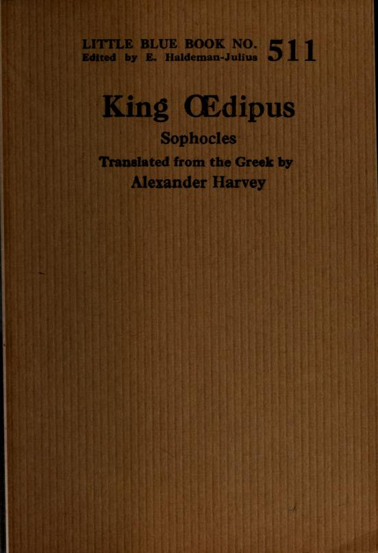 King dipus by Sophocles