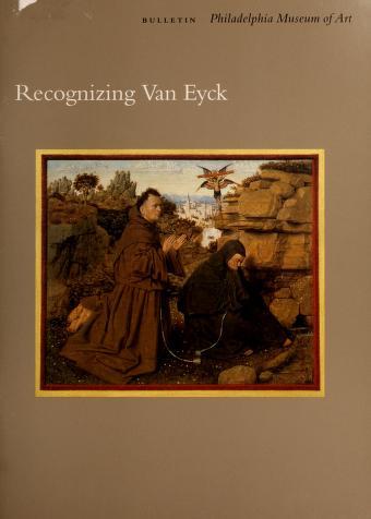 Cover of: Recognizing Van Eyck   Katherine Crawford Luber