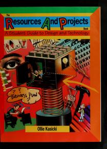 Cover of: The resources and projects book | Ollie Kasicki